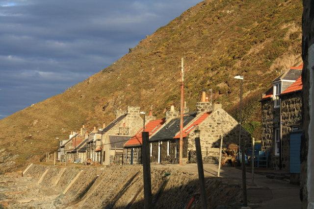 Crovie Village