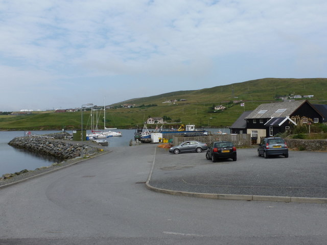 Voe: the harbour
