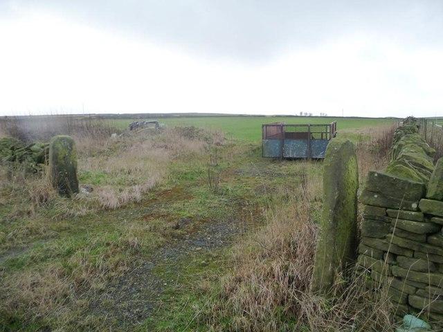 Farm access at Dearne Head