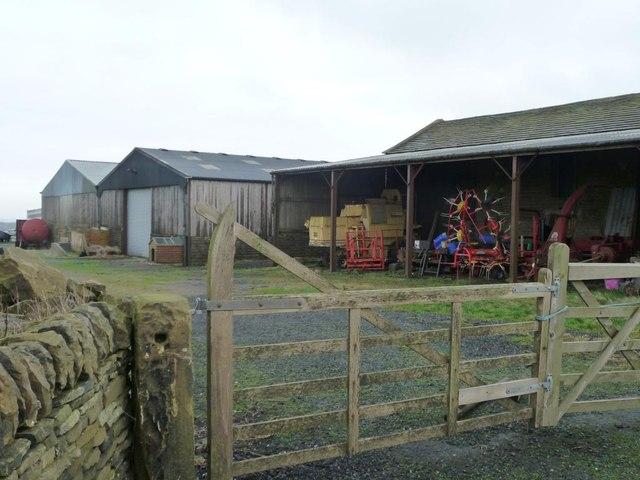 Farmyard at Dearne Head
