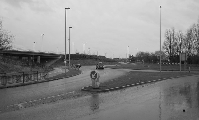 Mount Pleasant roundabout, Hull