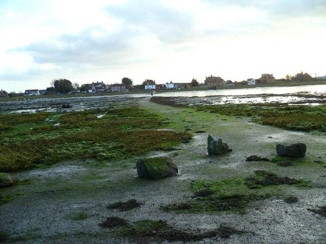 Path across the water at Bosham