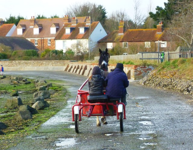 A drive along the front at Bosham