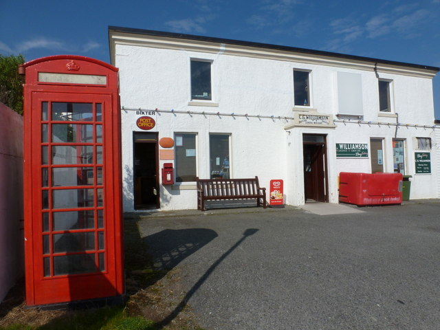 Bixter: the shop and post office
