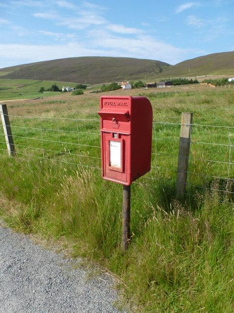 Tresta: postbox № ZE2 116