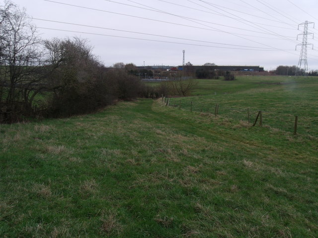Leighton Hall farm  Track
