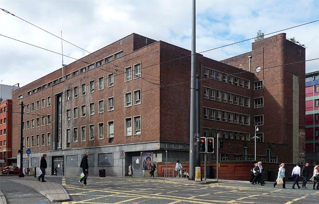 Former employment exchange, Aytoun Street, Manchester