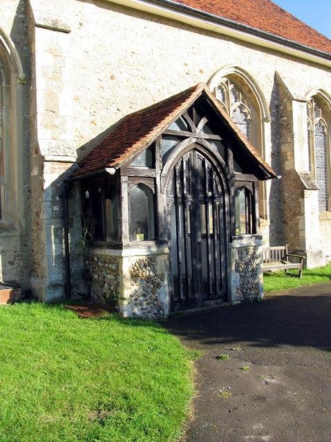 St Katharine, Gosfield - Porch