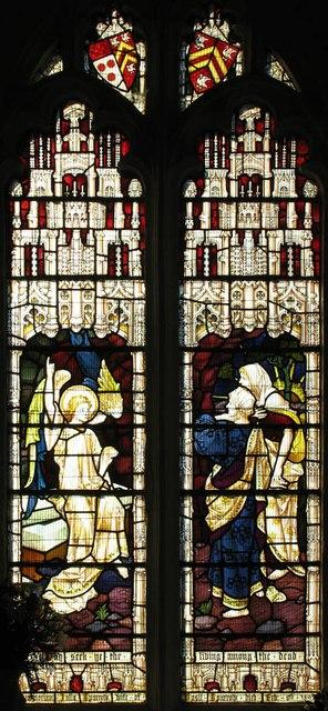St Katharine, Gosfield - Stained glass window