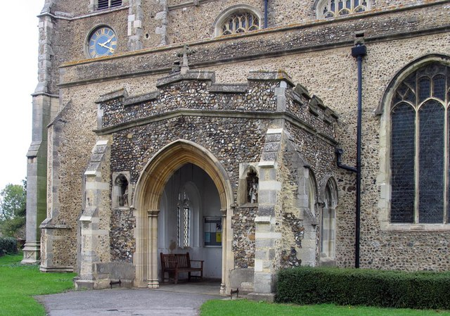 St Mary, Bocking - Porch