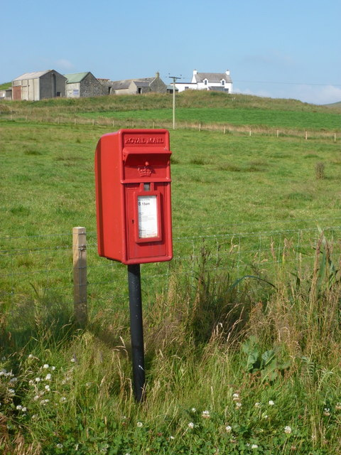 Weisdale: postbox № ZE2 49, Sound