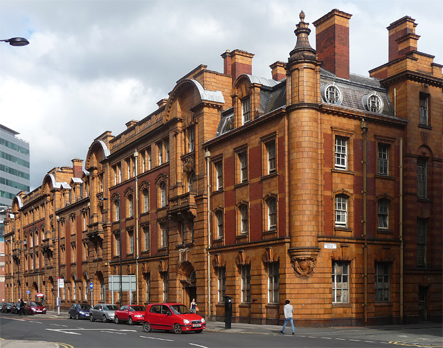Former police station, Whitworth Street, Manchester