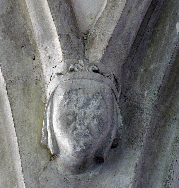 St Peter & St Paul, Bardfield Saling - Corbel