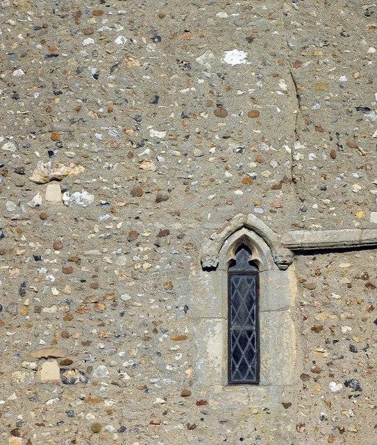 St Peter & St Paul, Bardfield Saling - Tower window