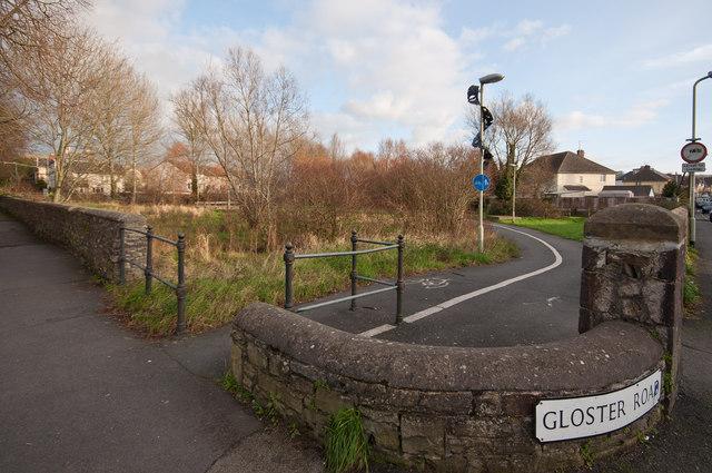 Portmarsh Field between Portmarsh Lane and Gloster Road