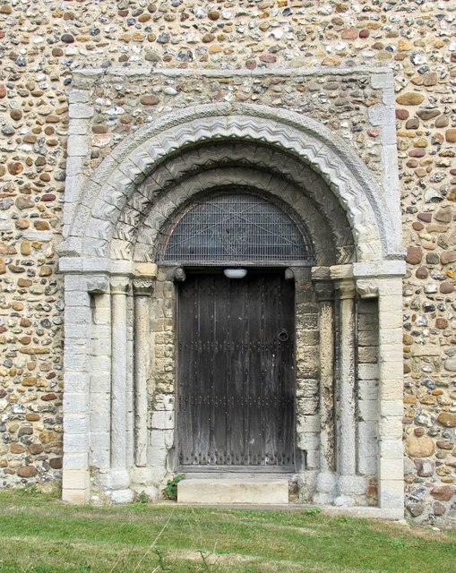 St John, Finchingfield - Doorway