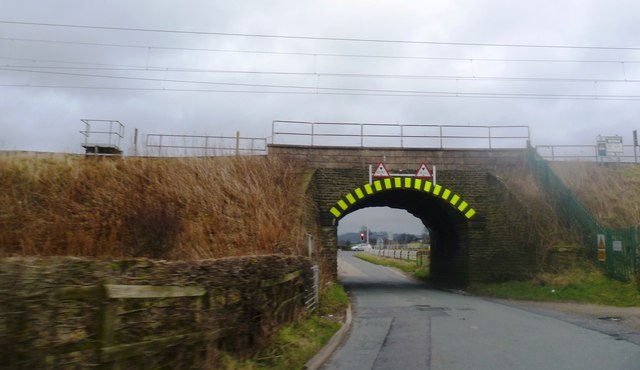 Low Rail Bridge on the B5358