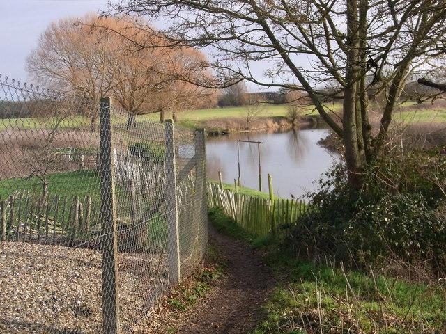 R. Avon below Luddington Road, Stratford-upon-Avon