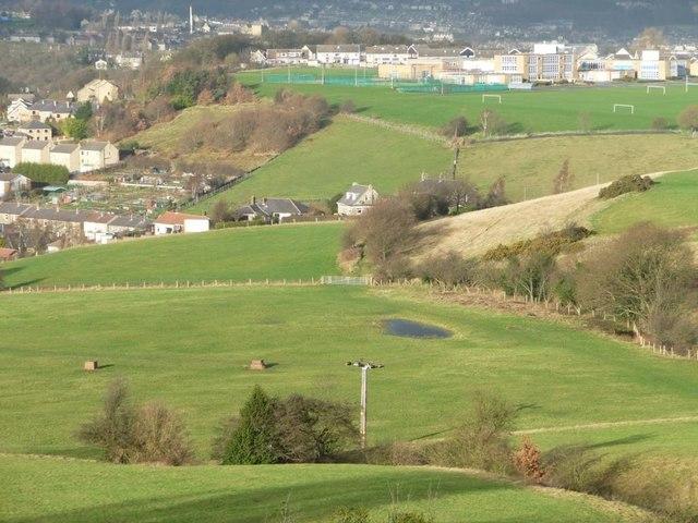 Some of Stirley Farm's fields