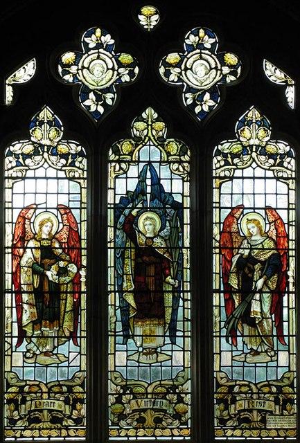 St John, Finchingfield - Stained glass window