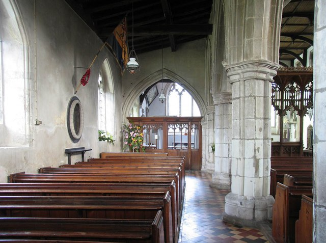 St John, Finchingfield - North aisle