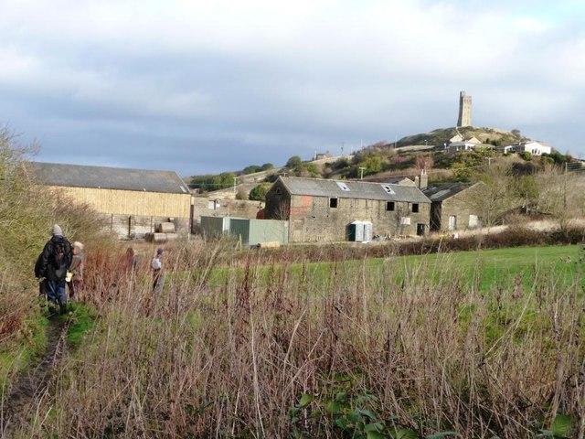 The path to Stirley Farm