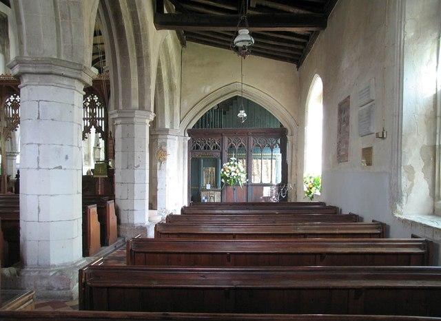 St John, Finchingfield - South aisle