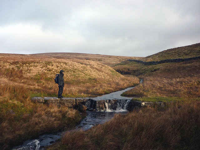 Fording the beck
