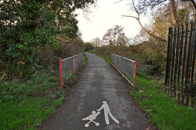 Hollowtree Cycleway where it passes over Coney Gut
