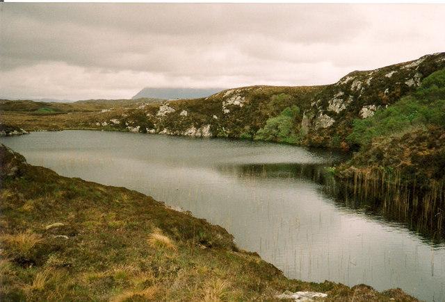 Small Lochan near Loch nan Lub
