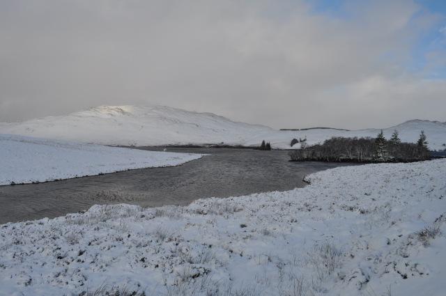 Loch Tarff on a Winter's Day