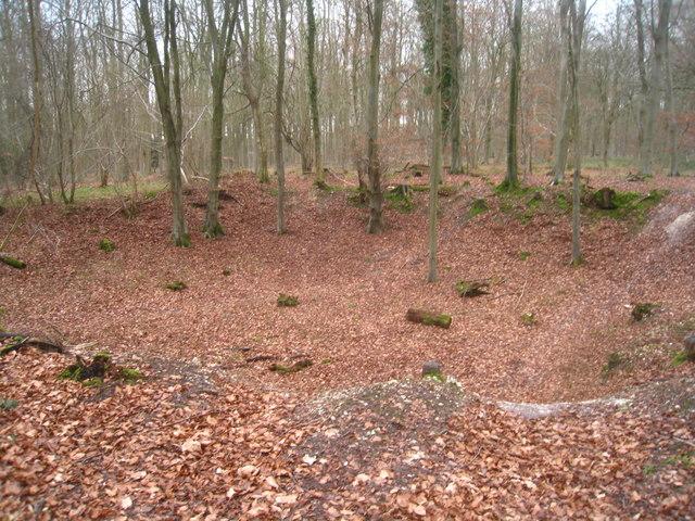 Disused pit - Black Wood