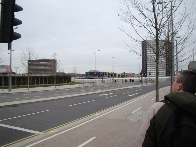 View of Stratford Town Centre from Westfield Way