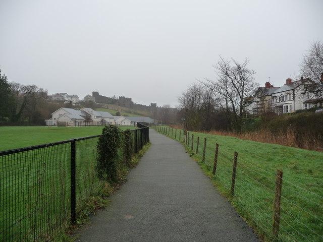 Footpath in Conwy