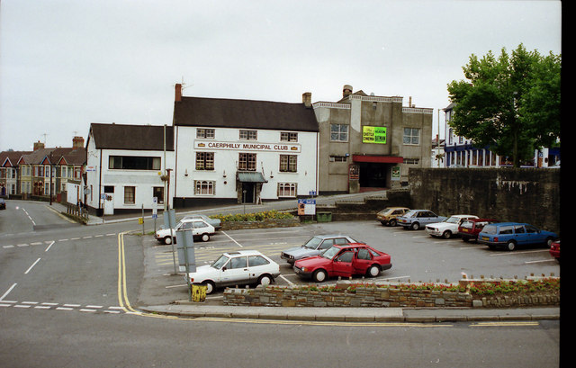 Old Castle Cinema and Boars Head Pub 1989