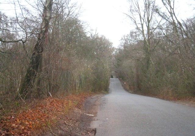 Lane near Scrubs Bridge