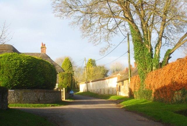 Sunshine in West Stratton