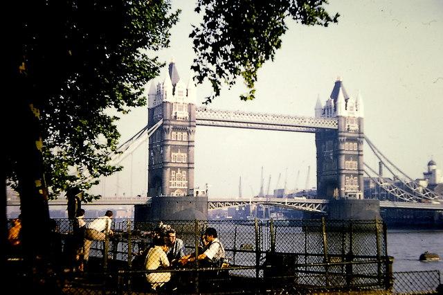 Tower Bridge - September 1968