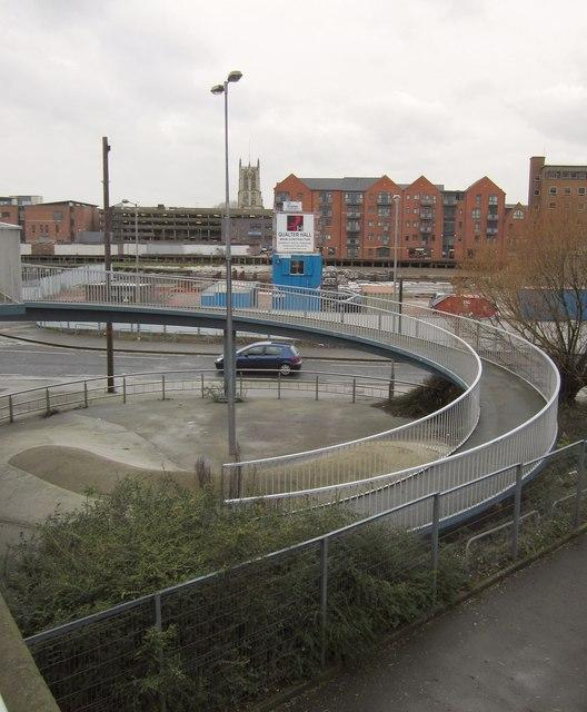 Pedestrian ramp, Myton Bridge