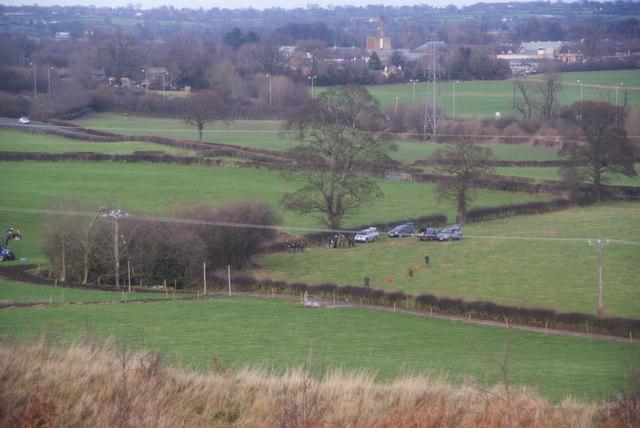 A shoot near Oswestry