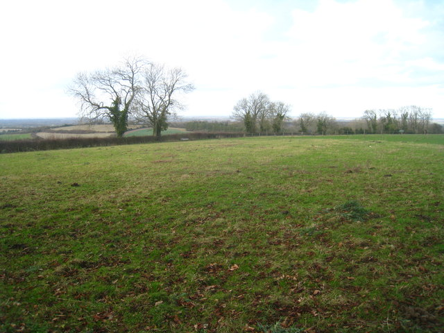 Field atop Plantation Hill