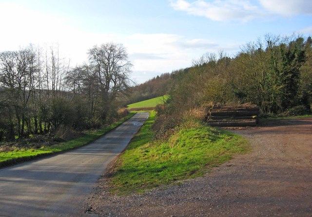 St. Kenelm's Pass, near Clent