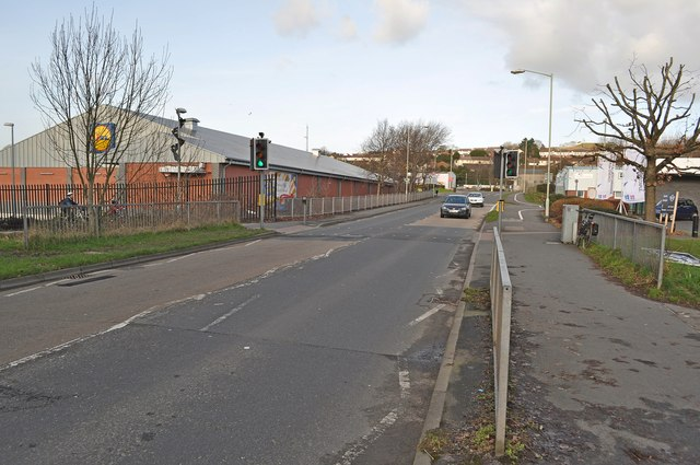 Hollowtree Road where it passes over Coney Gut