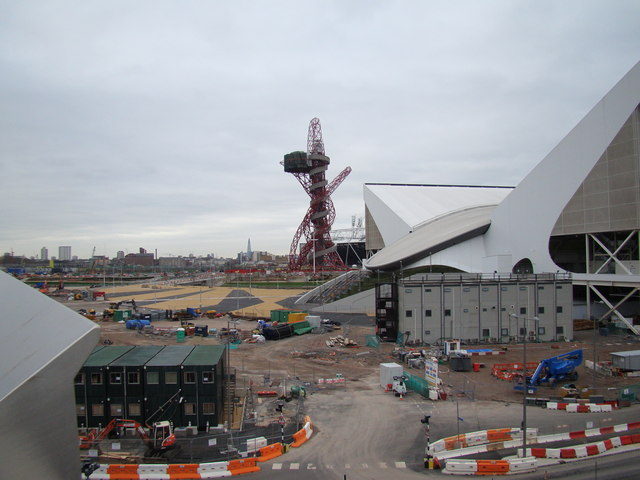 View of the viewing tower from Westfield Way