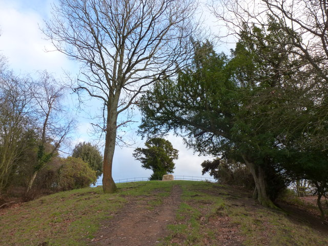 Almost there - approaching the southern end of the Offa's Dyke path