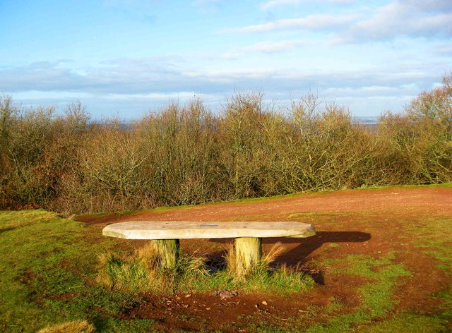 A seat on the Clent Hills, near Clent