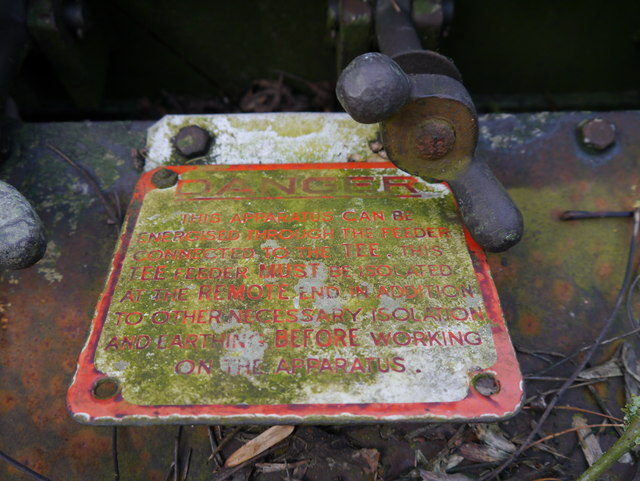 RAF Charterhall - Transformer Compound - Apparatus Image #3