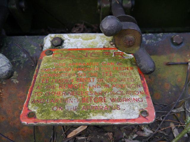 RAF Charterhall - Transformer Compound - Apparatus Image #3