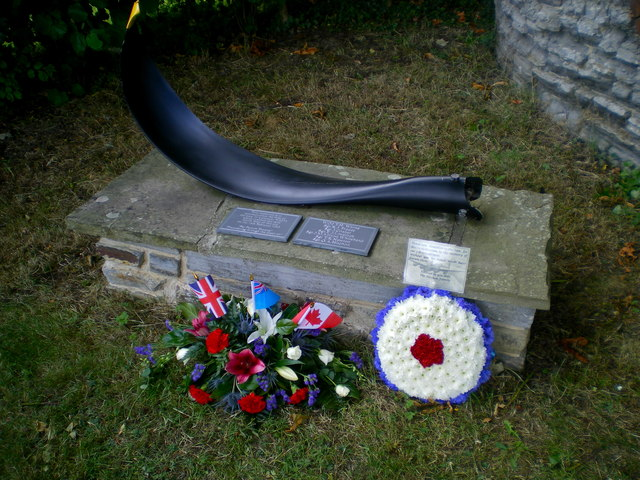 Renovated Lancaster W4270 Memorial