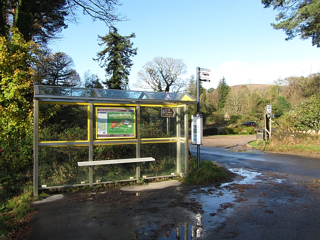 Bus stop, Claddach